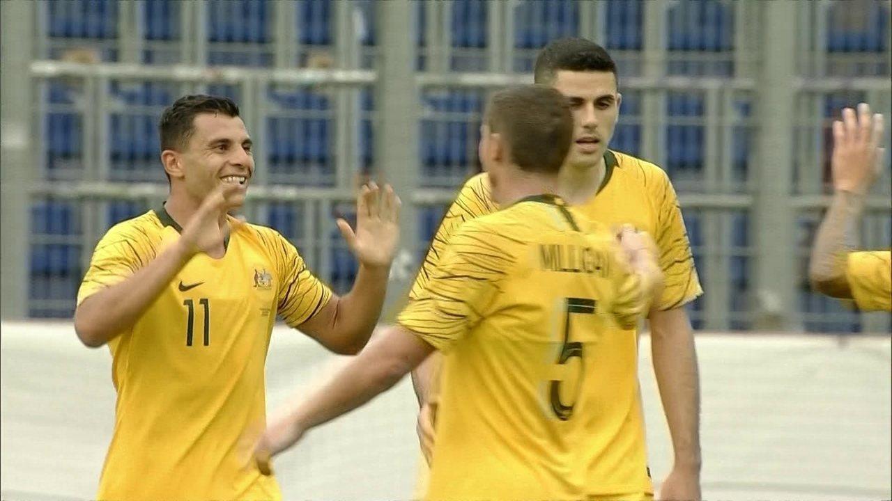 Os gols de Austrália 4 x 0 República Tcheca pelo Amistoso Internacional 19e0065fd50c5