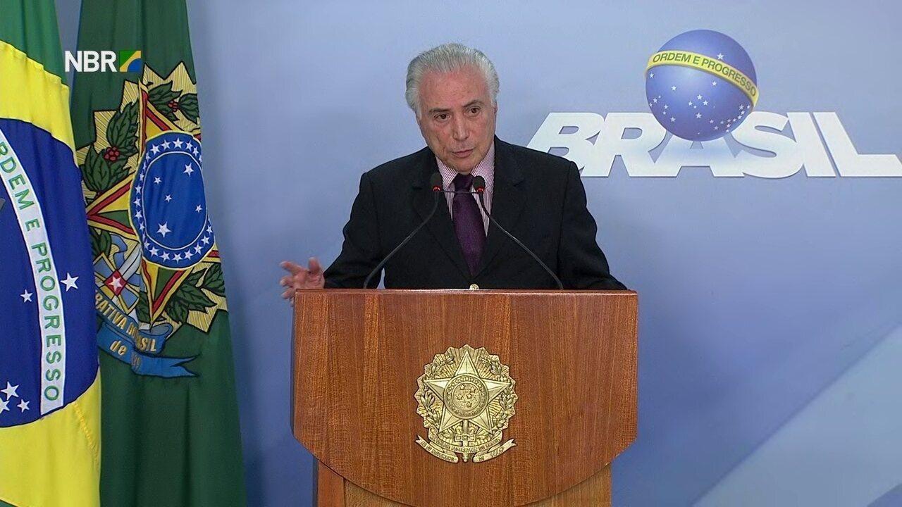 Michel Temer anuncia Ivan Monteiro como novo presidente da Petrobras