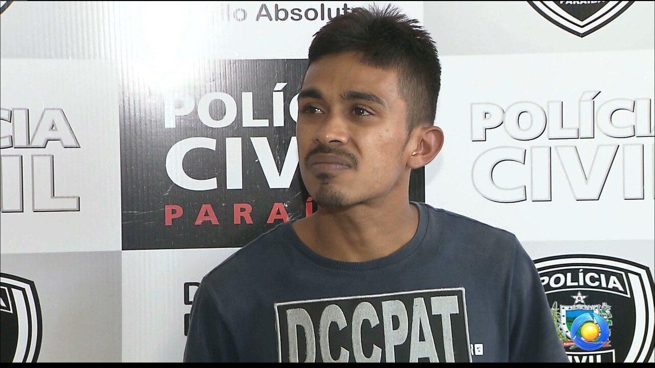 Filho é preso suspeito de planejar assalto que matou pai em posto de combustível na PB