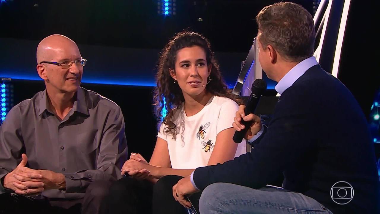 'The Wall': Conheça a história de amizade entre Isabela e Eduardo