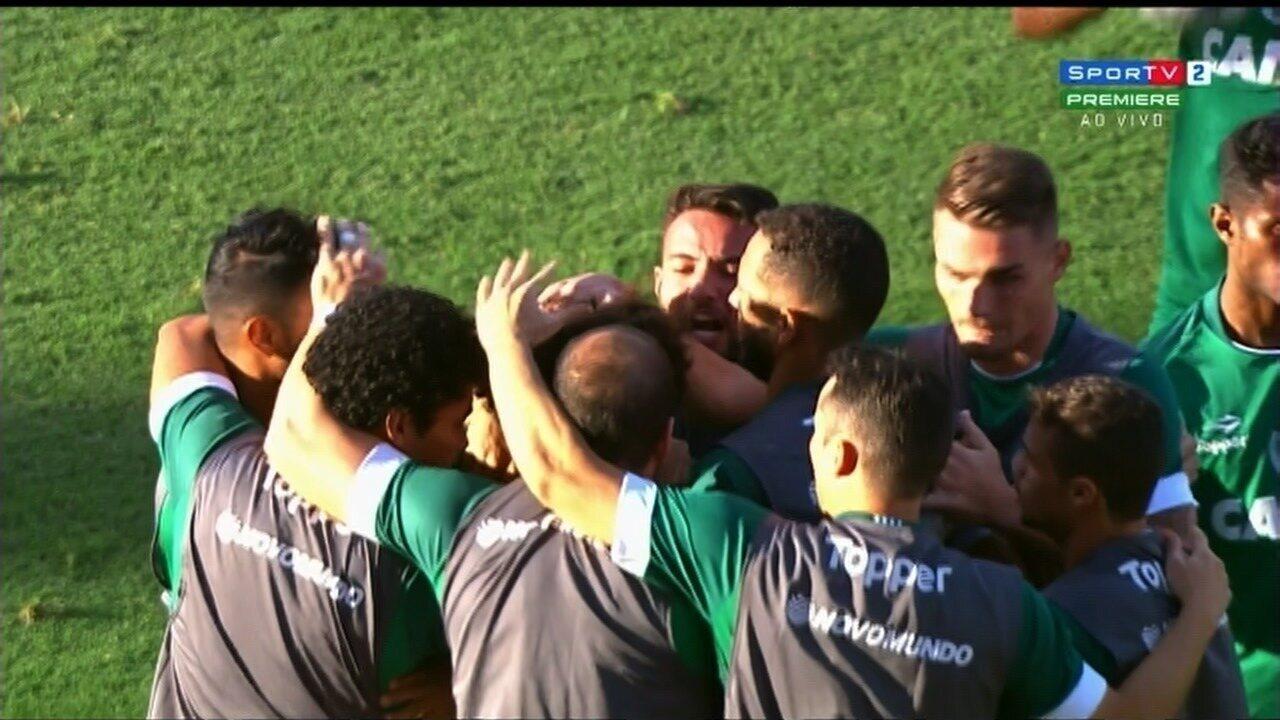 Veja o gol de Felipe Gedoz contra o Atlético-GO