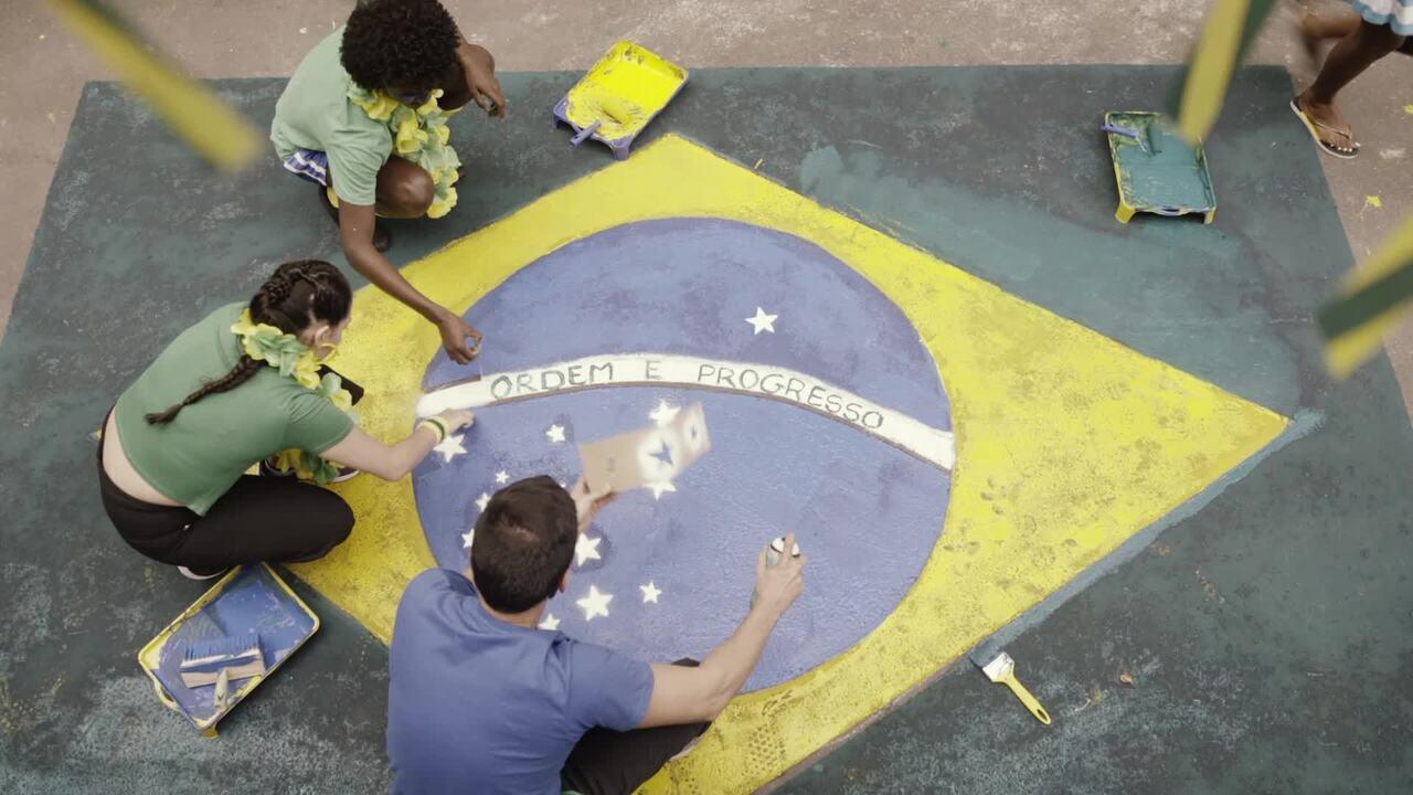 Globo na Copa: todo lugar vira estádio