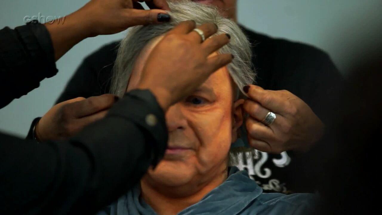 Confira a preparação de Paulo Ricardo para viver Frank Sinatra