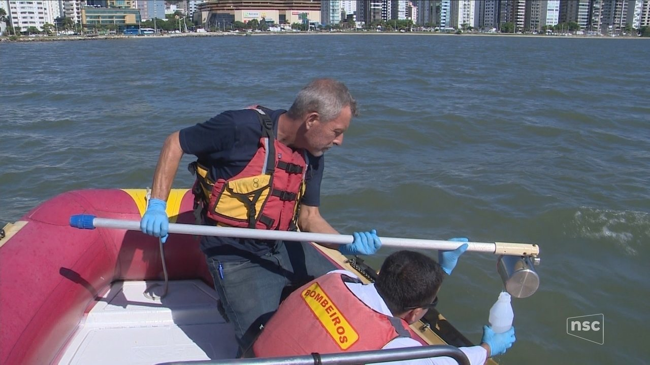 Veja resultados de 2º dia de testes do mar da Beira-mar Norte, em Florianópolis