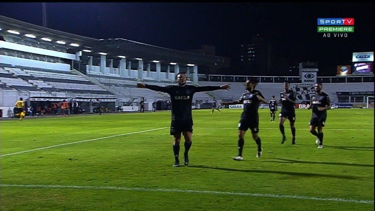 Gol da Ponte Preta! André Luís pega de primeira e empata contra o Goiás!