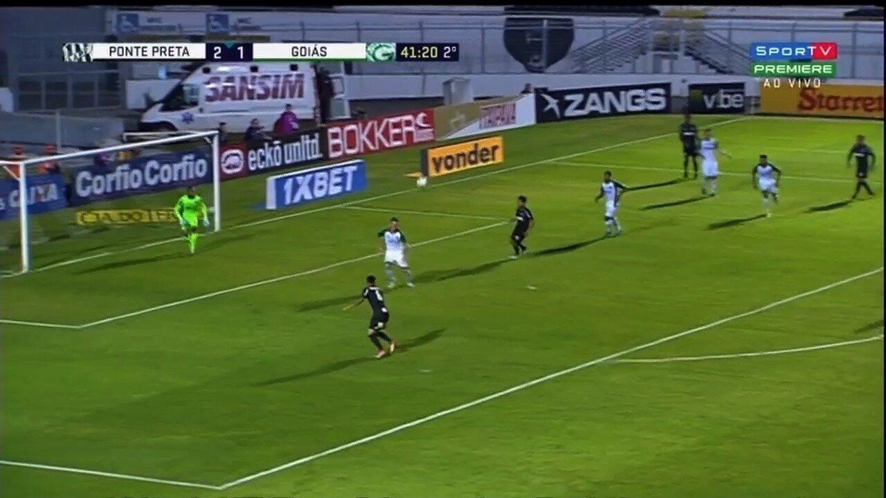 Melhores Momentos de Ponte Preta 2 x 1 Goiás - 9ª rodada da Série B