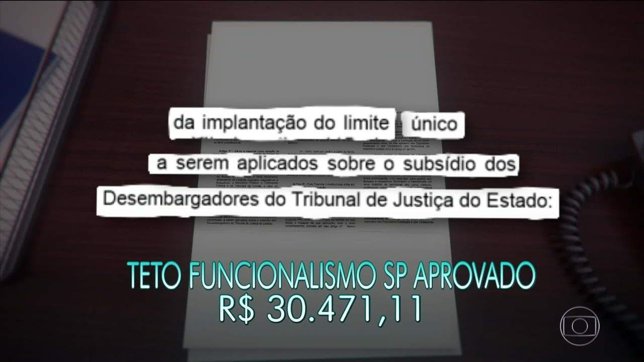 PEC que eleva teto do salário de servidores de SP é aprovada na Assembleia