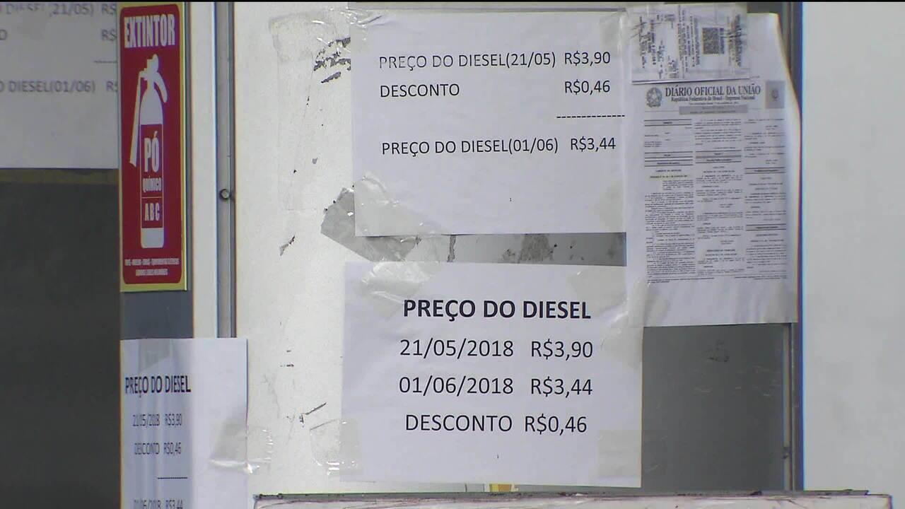 Preço de referência do diesel sobe em sete estados