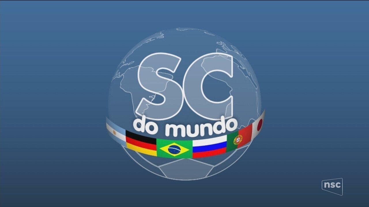 NSC TV mostra presença de países da Copa no estado