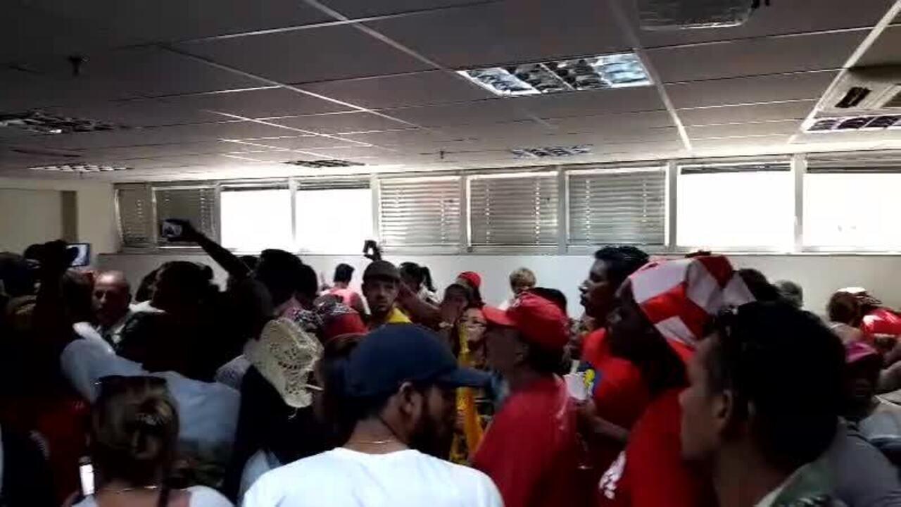 Grupo ocupa Ministério das Cidades, em Brasília