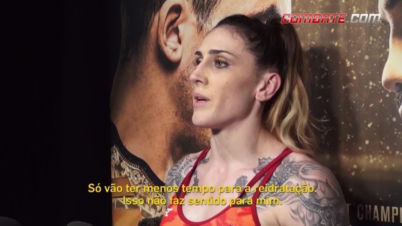 Lutadores do UFC 225 comentam proposta de mudança no horário das pesagens