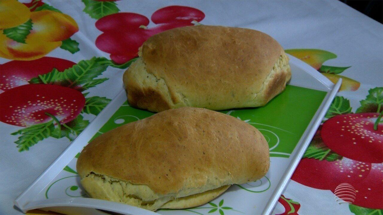 Pão com Ora-pro-nóbis é destaque do quadro 'Receita de Família'
