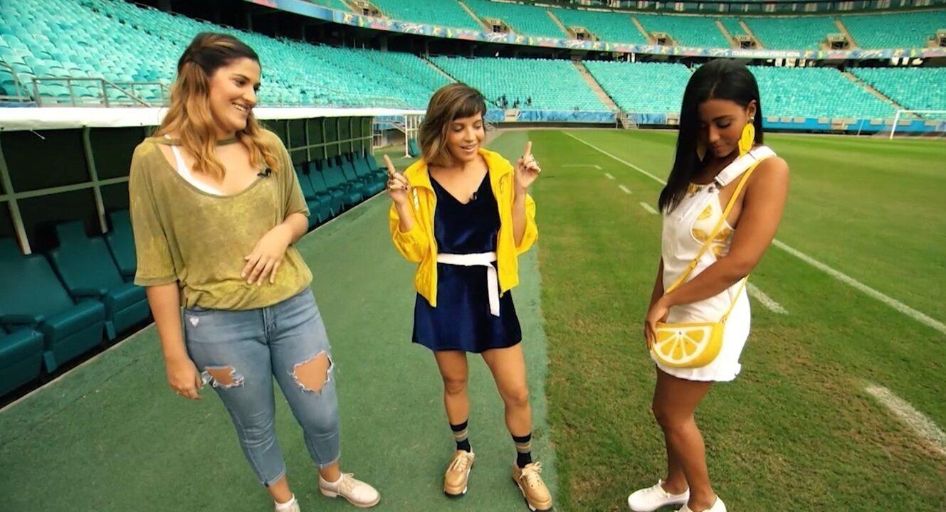 'Expresso' monta looks incríveis para arrasar durante os jogos do Brasil