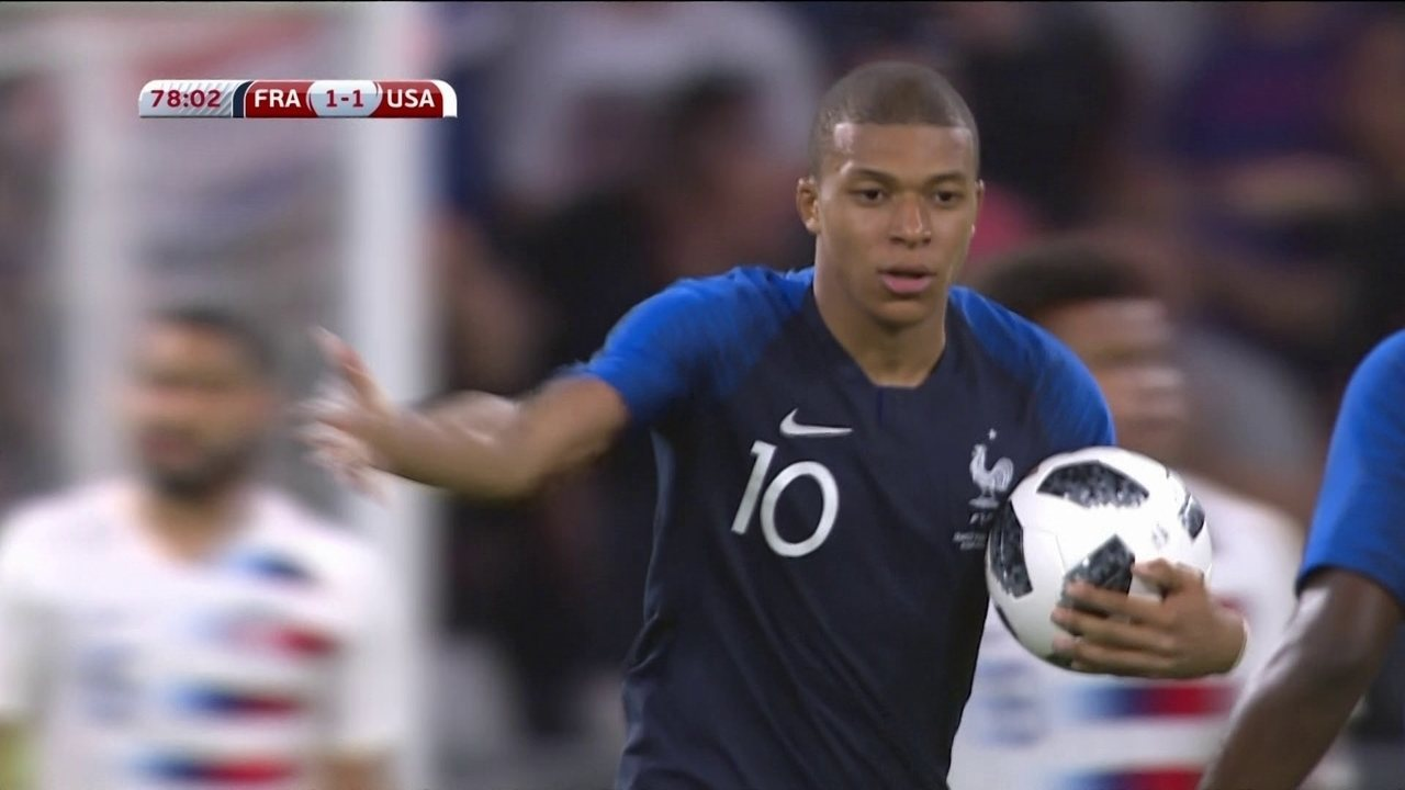 Melhores momentos  França 1 x 1 Estados Unidos em Amistoso Internacional ca63a0c20ecd7