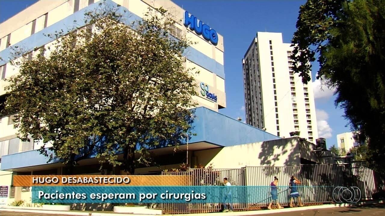 Parentes de pacientes reclamam de desabastecimento do Hugo, em Goiânia