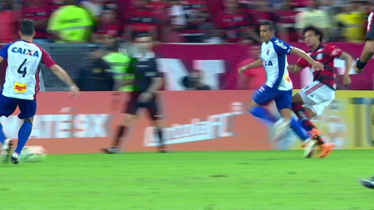 Melhores momentos: Flamengo 2 x 0 Paraná pela 11ª rodada do Brasileirão