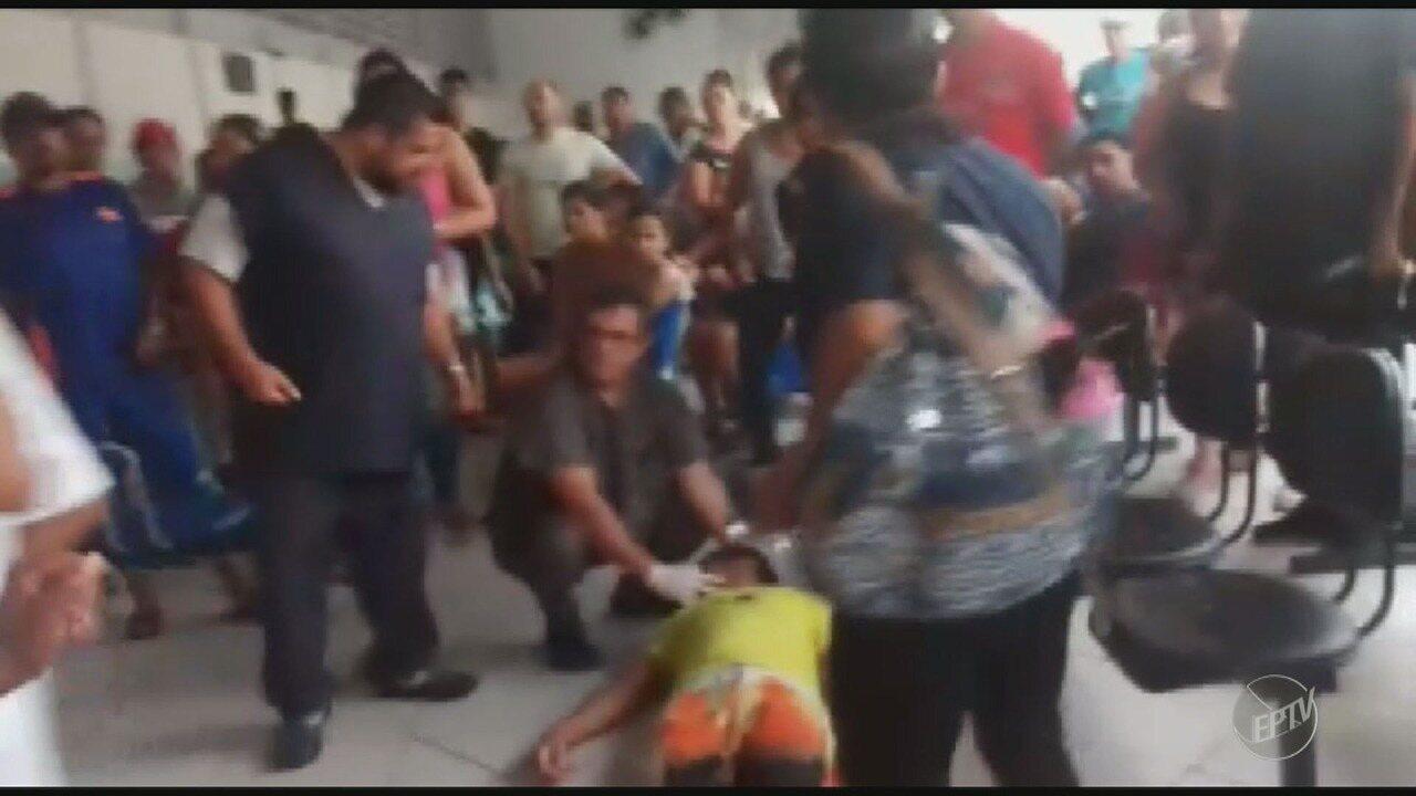Homem desmaia enquanto aguarda atendimento em unidade de saúde no Campo Grande em Campinas