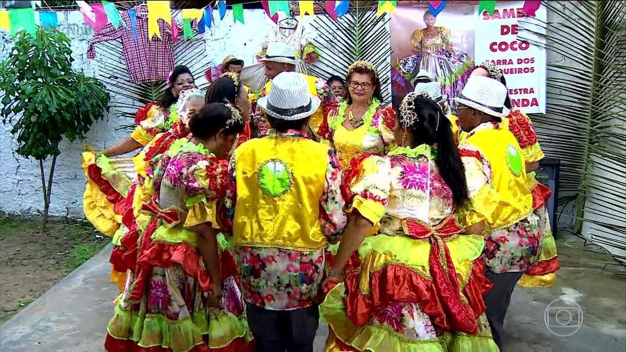 Samba de Coco é tradição forte em Sergipe