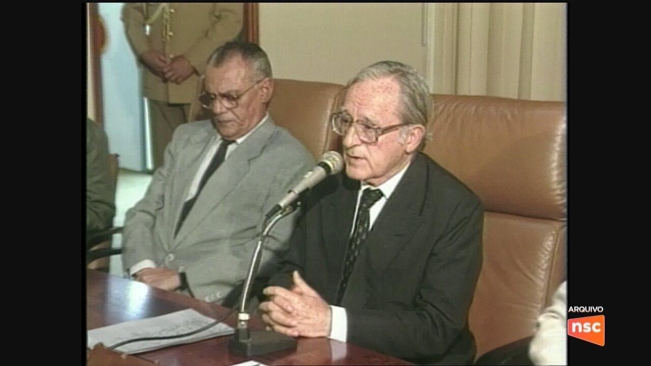 Morre o ex-governador de SC Antônio Carlos Konder Reis