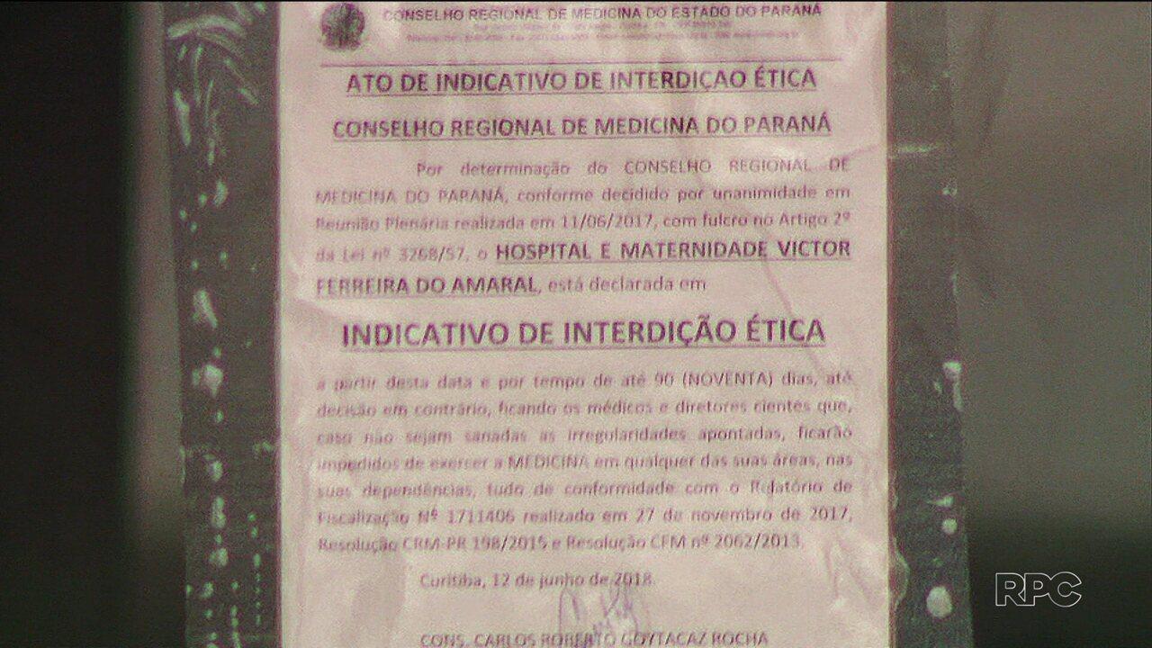 Conselho de Medicina aponta irregularidades na maternidade Victor Ferreira do Amaral