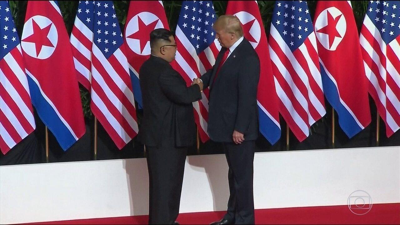 Coreia do Norte comemora acordo com EUA; Trump é criticado