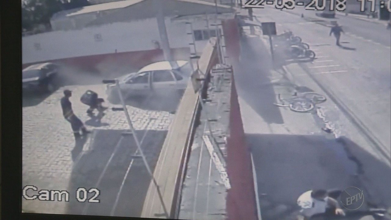 Motorista é levado para presídio após atropelar cinco pessoas em Pouso Alegre (MG)