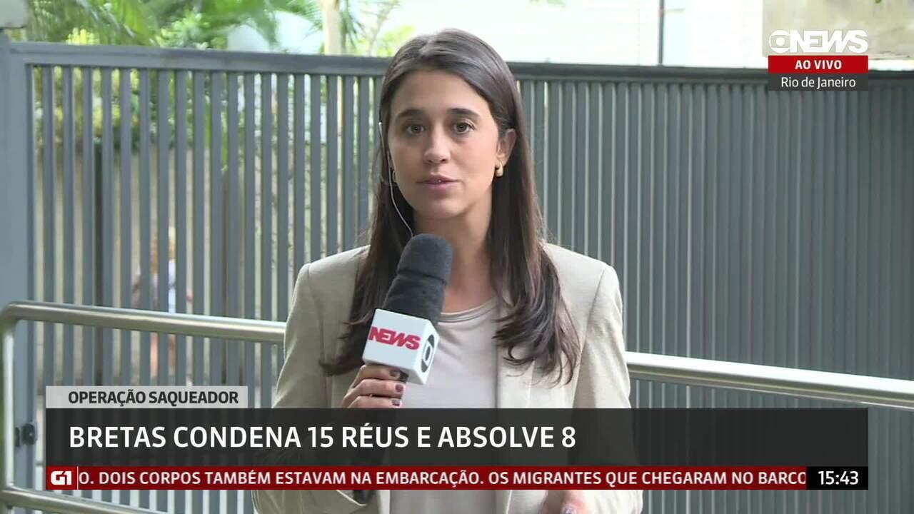 Justiça do Rio condena 15 réus e absolve oito na Operação Saqueador