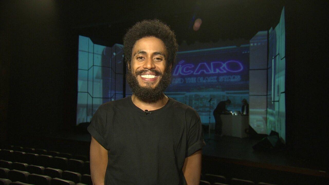 Ícaro Silva canta e conta sucessos da história da Black Music