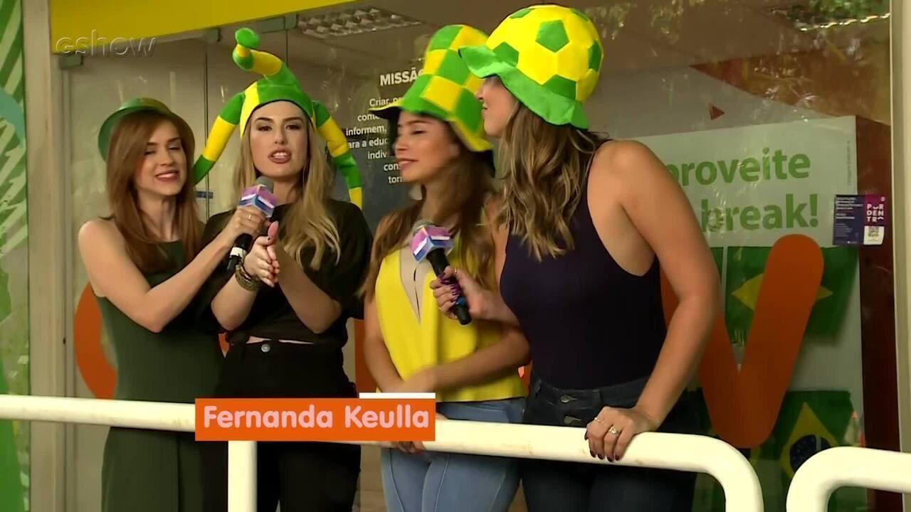 Boletim 'Vídeo Show: Enquanto Rola a Copa' estreia nesta quarta