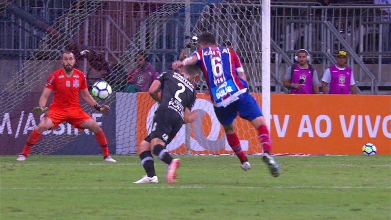 15d22eeb22 Melhores momentos de Bahia 1 x 0 Corinthians pela 12ª rodada do Campeonato  Brasileiro