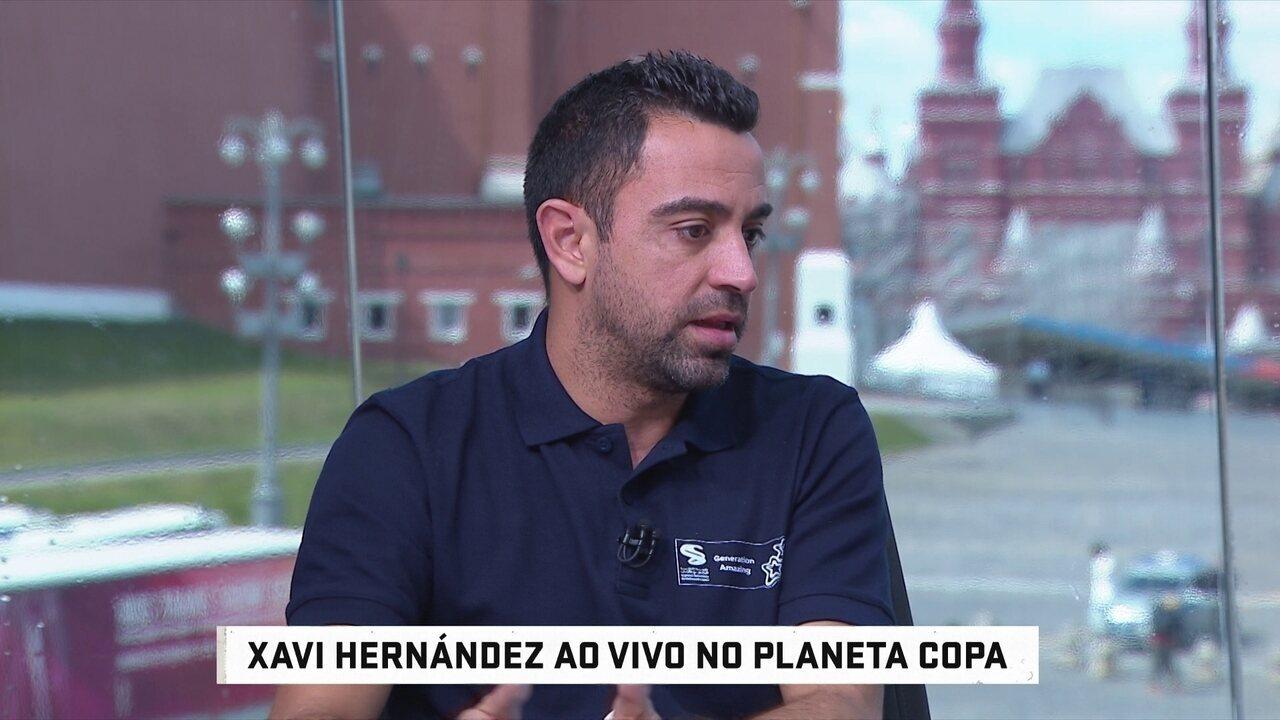 f8d71bb257 Xavi comenta crise na seleção da Espanha  críticas a Lopetegui e apoio a  Hierro