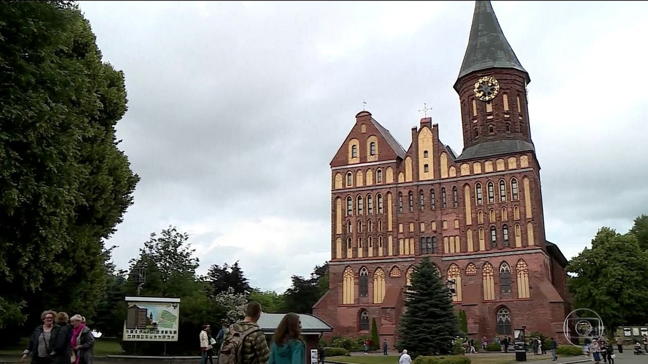 Kaliningrado vai sediar quatro jogos da primeira fase da Copa do Mundo