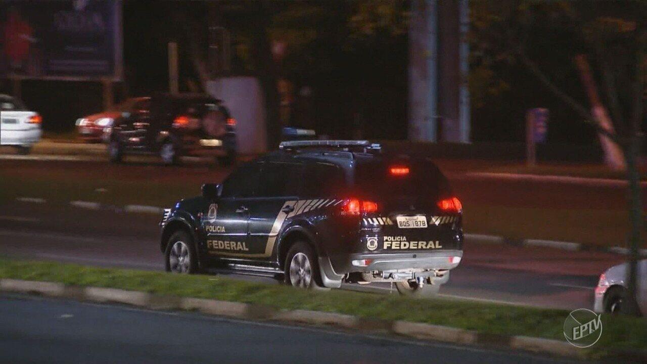 Operação da PF contra tráfico internacional de drogas investiga suspeitos em Campinas