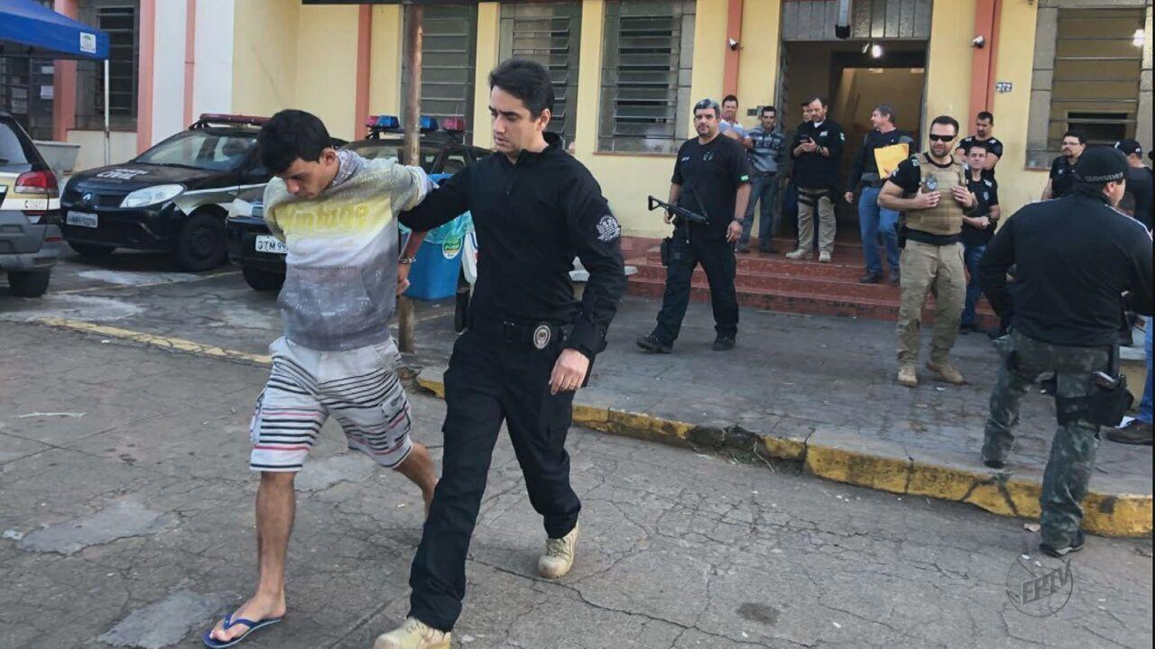 Suspeitos de integrar facção são presos pelas polícias de Mococa e São José do Rio Pardo