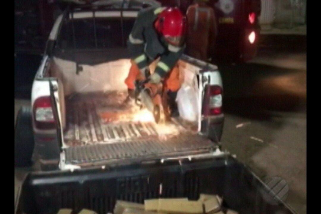 Polícia apreende 90kg de maconha em Altamira, no sudoeste do Pará