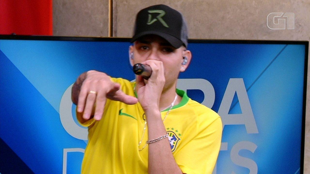 Copa de Hits: MC WM fala sobre o sucesso 'Copa do Bumbum'