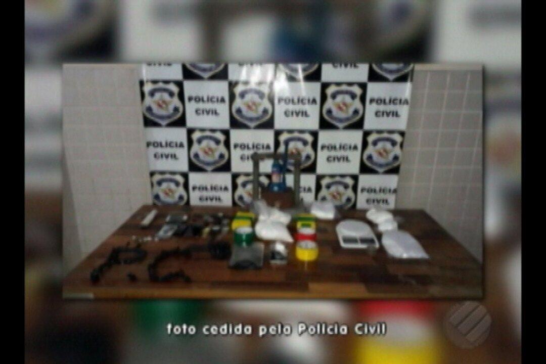 Três são presos e drogas são apreendidas em operação de combate ao tráfico em Castanhal