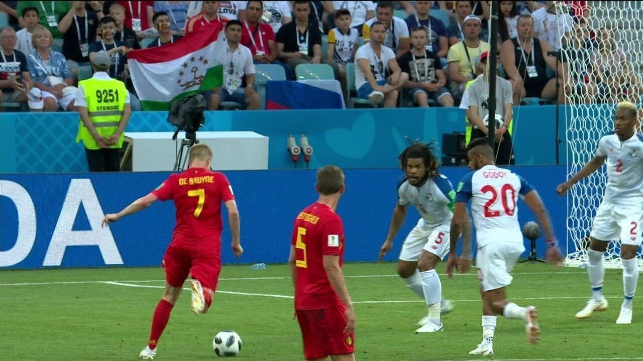 Melhores Momentos de Bélgica 3 x 0 Panamá pela 1ª rodada da Copa do Mundo