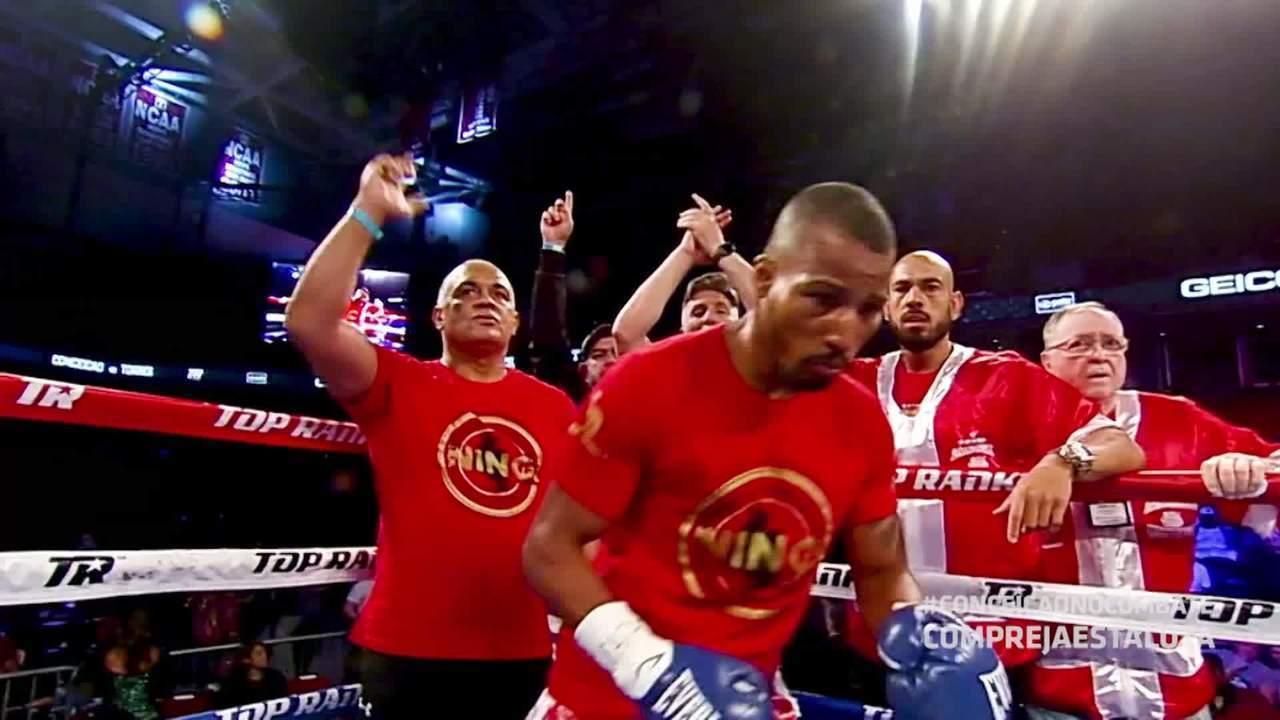 Combate transmite luta de boxe entre Robson Conceição x Gavino Guaman