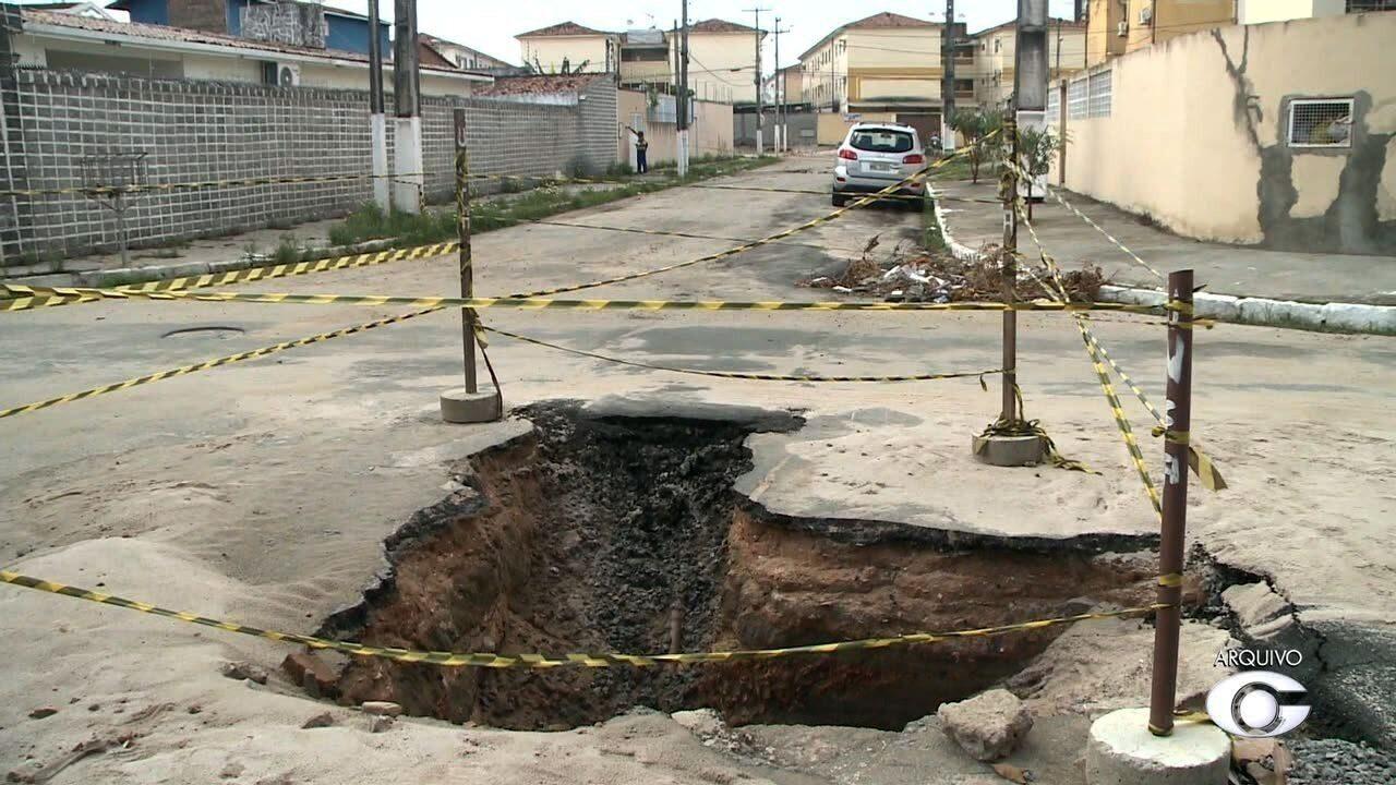 Reunião traça novo plano de ação para descobrir a causa das rachaduras no Pinheiro