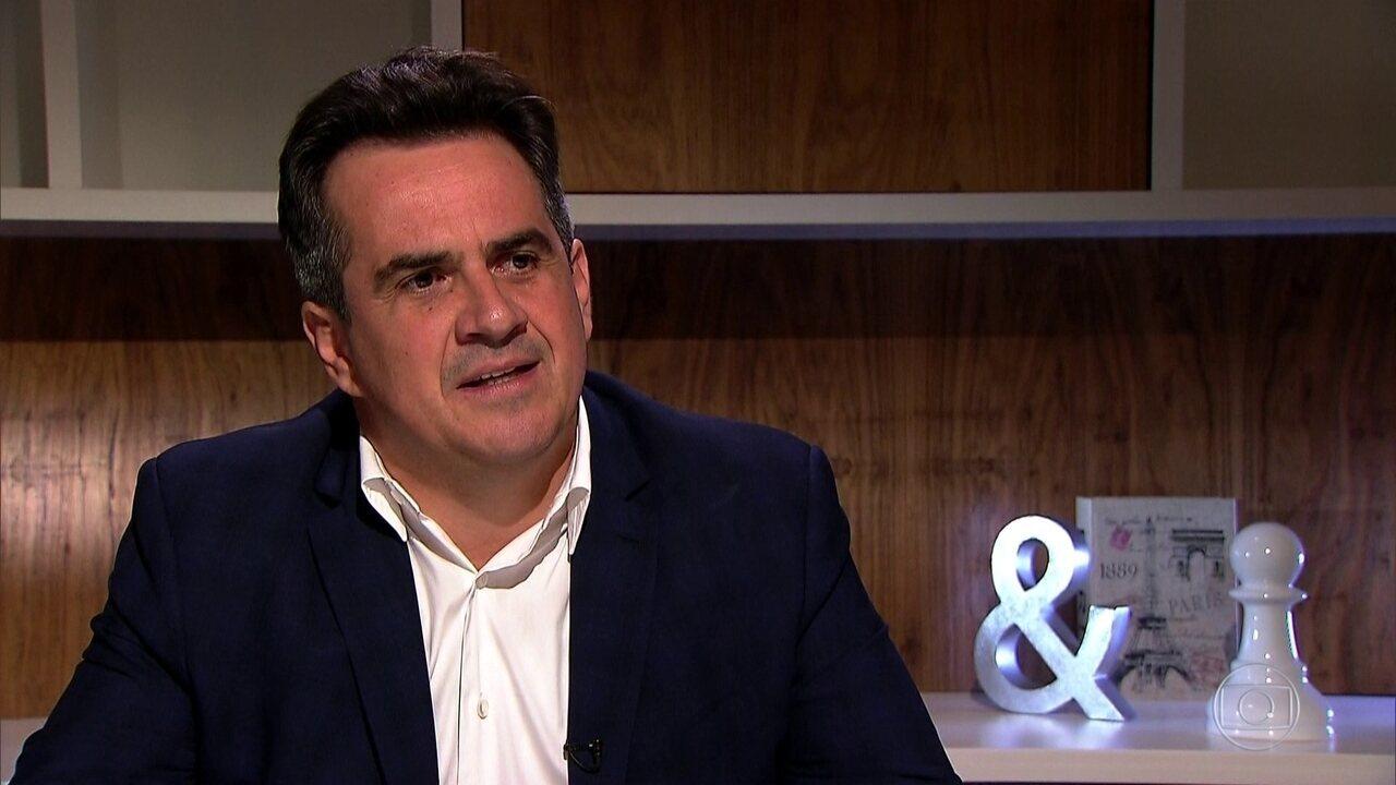 PGR denuncia presidente do PP, senador Ciro Nogueira, por obstrução de Justiça