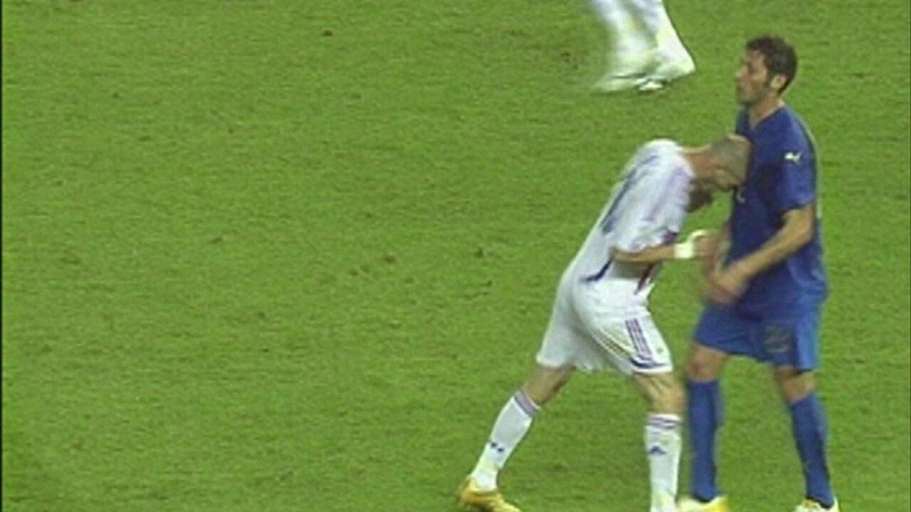 E se Zidane não tivesse dado a cabeçada em Materazzi
