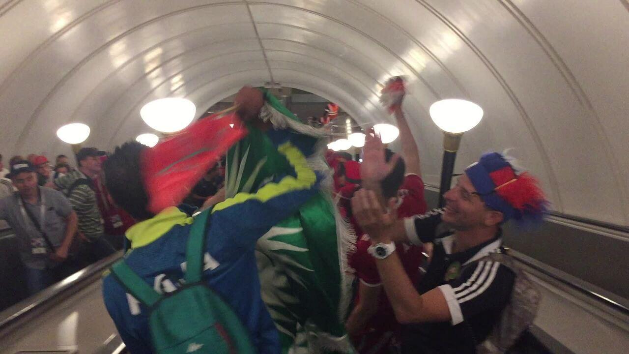 Música da torcida de Marrocos na Copa