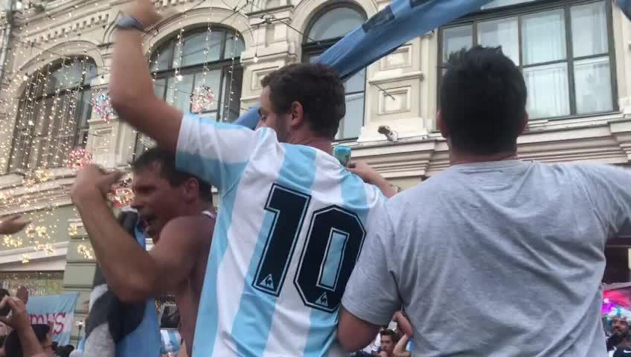 Música torcida da Argentina na Copa