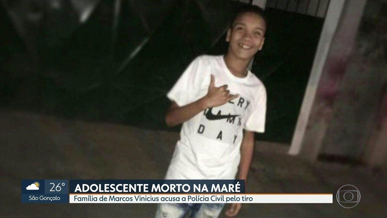 Familiares acusam Polícia de ter atirado em adolescente durante operação na Maré