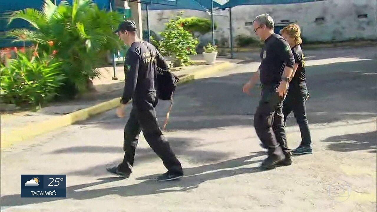 Polícia Federal apreende documentos e computadores em etapa da Lava Jato em Pernambuco
