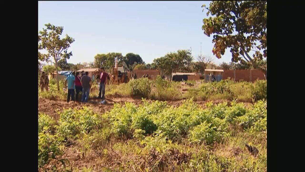Reintegração de posse é realizada no Bairro Vieno em Araguari