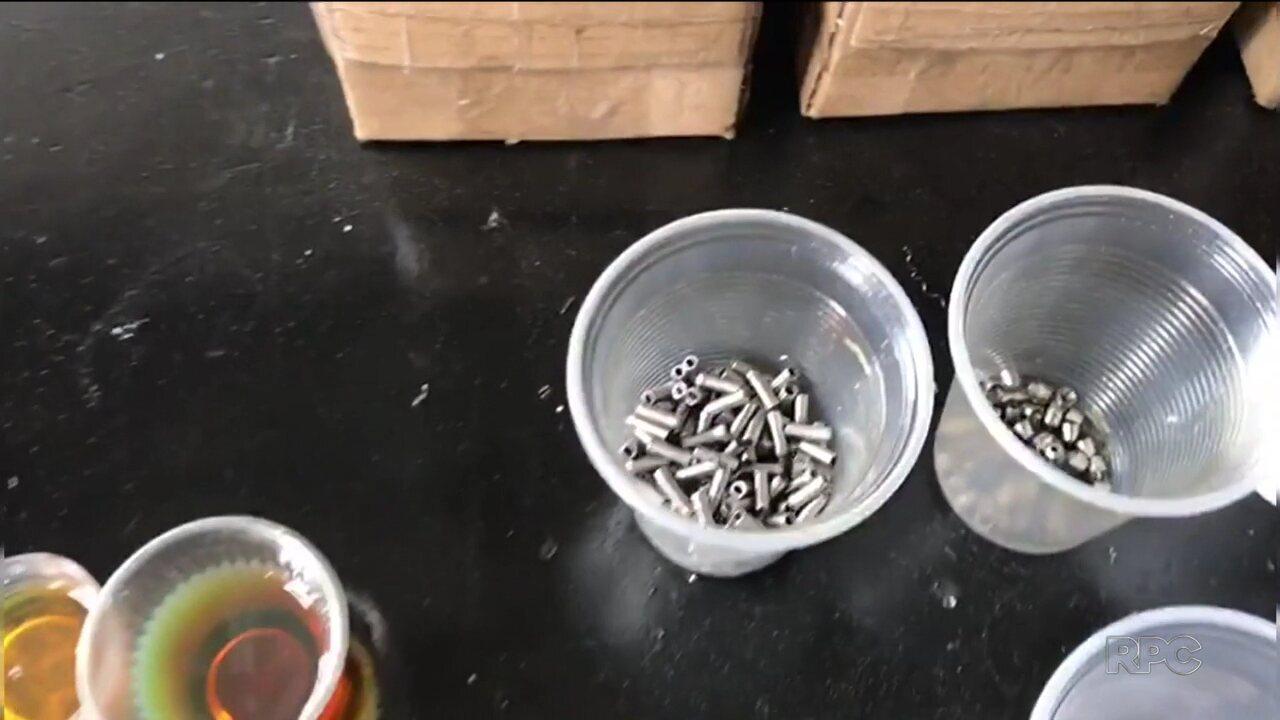 Polícia fecha fábrica que produzia próteses dentárias