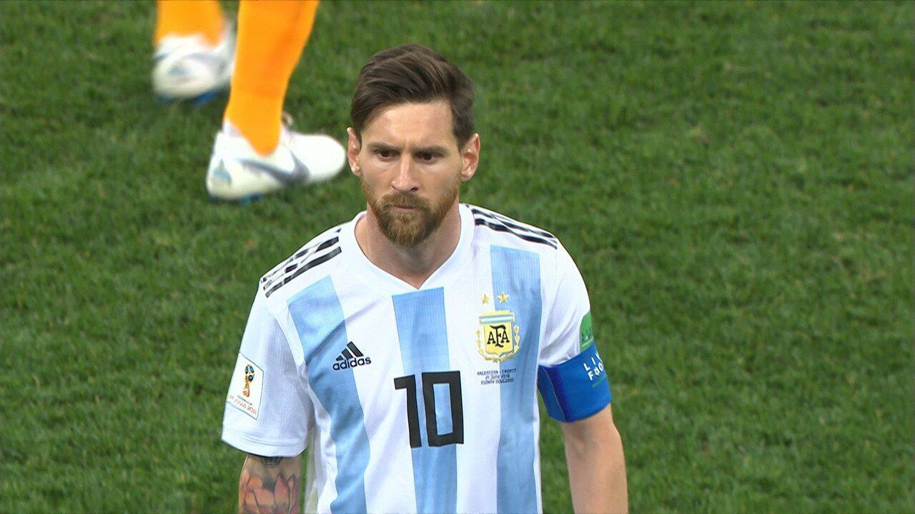 Argentina 0 x 3 Croácia - Melhores Momentos