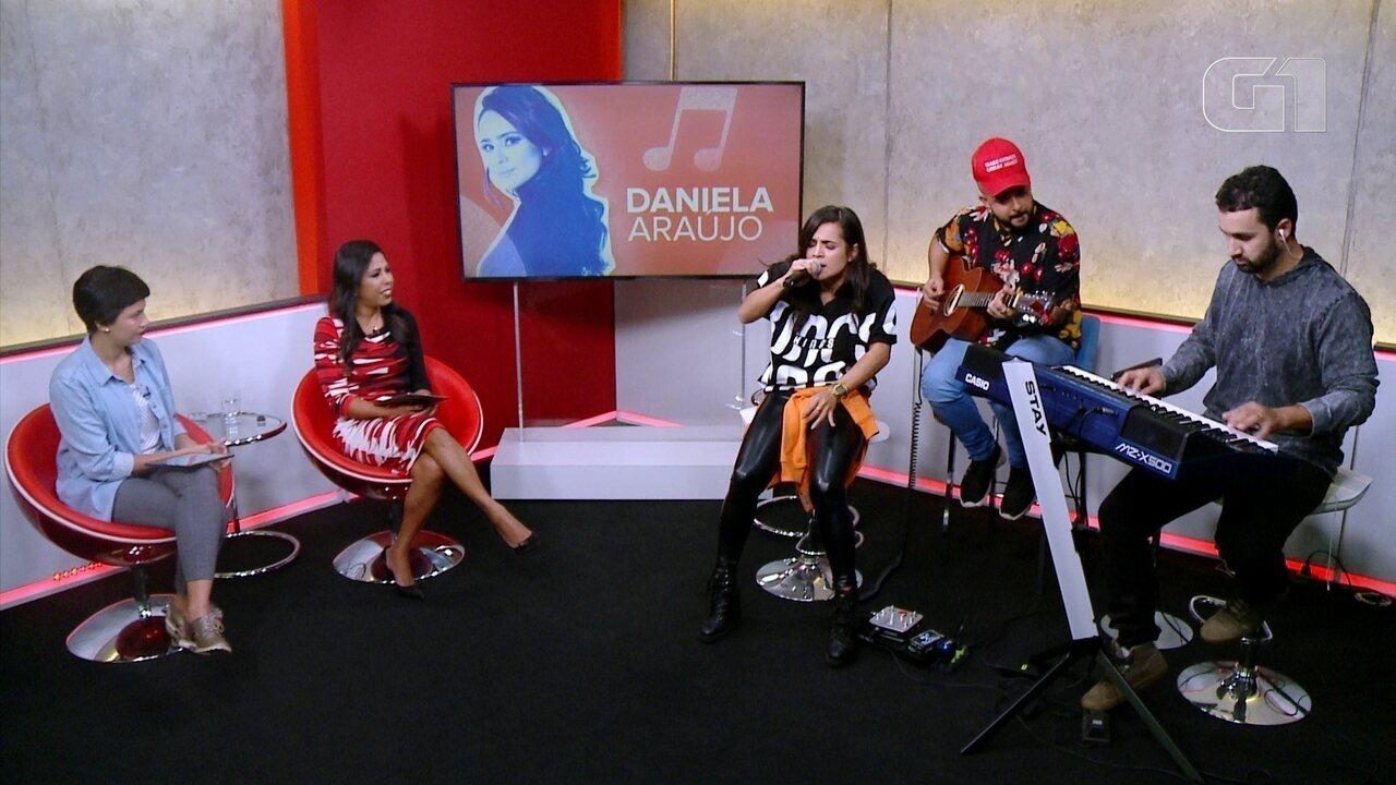 Promessas no G1: veja entrevista com a cantora gospel Daniela Araújo